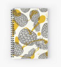 Ananas und Sahne Spiralblock
