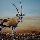 Gemsbok of the Kalahari by Cherie Roe Dirksen