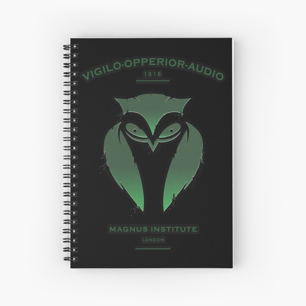 Vigilo Operior Audio Spiral Notebook