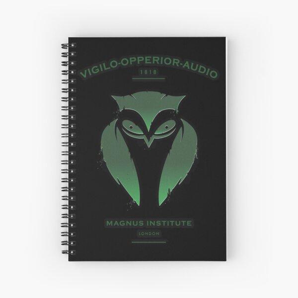 Vigilo Operior Audio Spiral Notebook