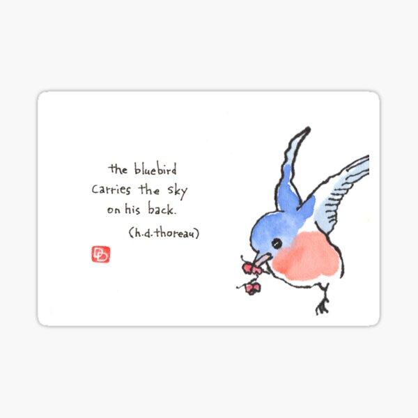 Carry the Sky Sticker