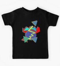 80s Geometry: Worlds Apart Kids Tee