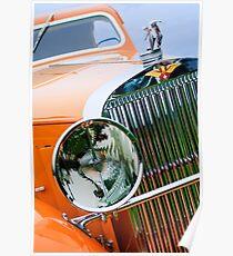 1933 Hispano-Suiza J12 Vanvooren Coupe  -0777c Poster