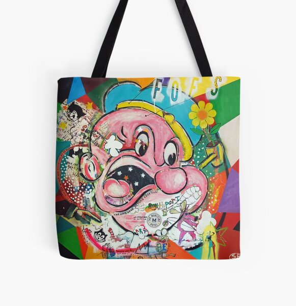 The Story of us All Over Print Tote Bag