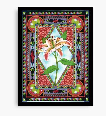 Gilding the Lily! Canvas Print