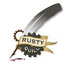Rusty Quill Company Logo von RustyQuill