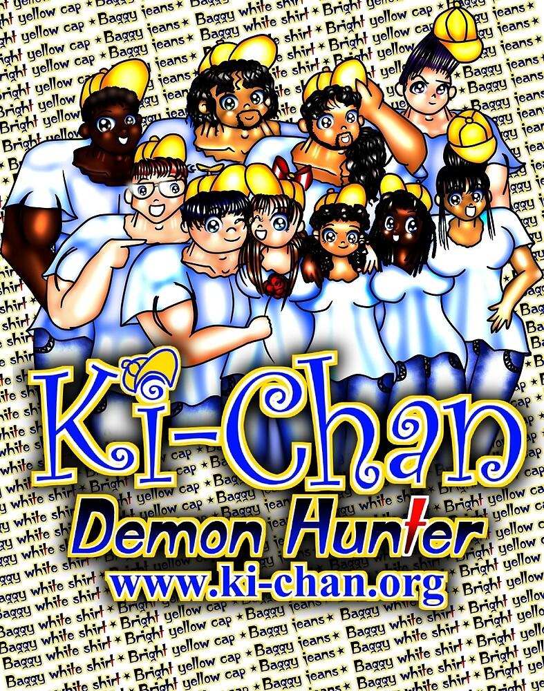 Ki-Chan: White Shirt Team by CodenameSailorE