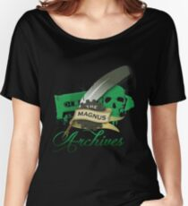 The Magnus Archives Logo Women's Relaxed Fit T-Shirt