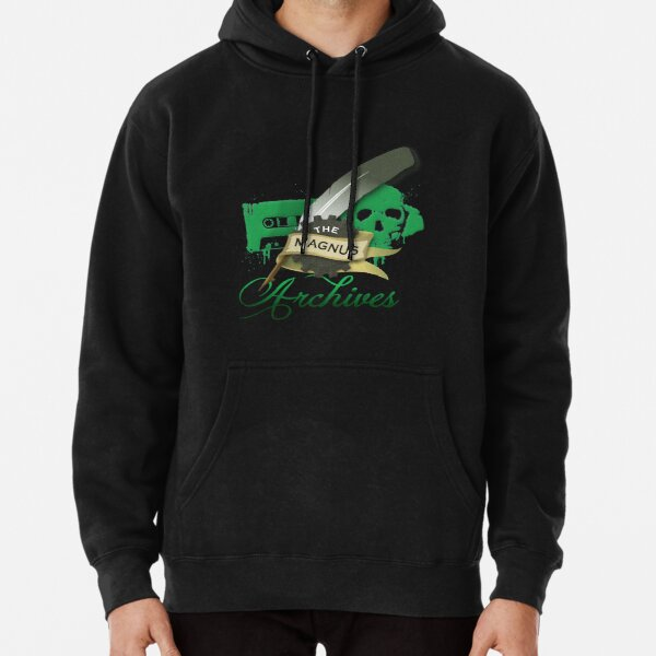 The Magnus Archives Logo Pullover Hoodie