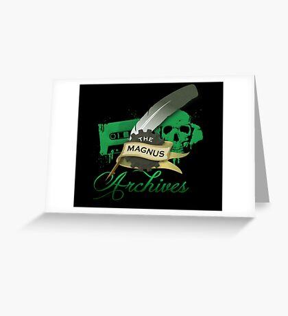 The Magnus Archives Logo Greeting Card