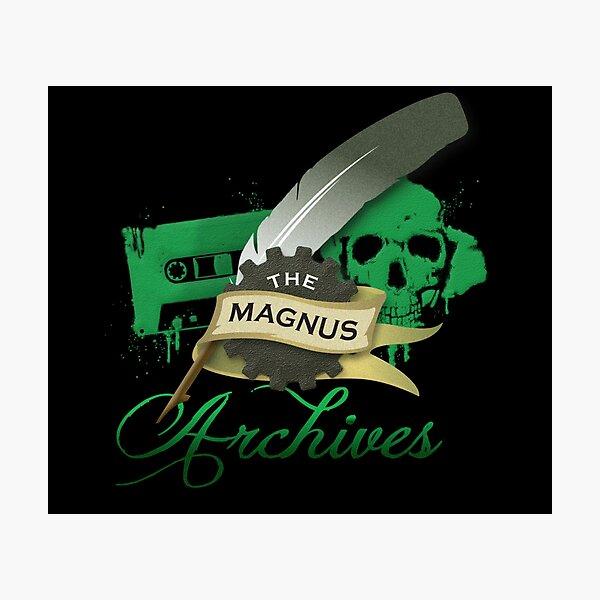 The Magnus Archives Logo Photographic Print