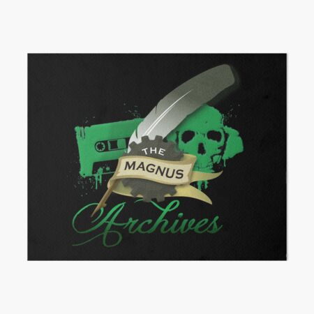The Magnus Archives Logo Art Board Print
