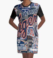 Detroit Tigers Graphic T-Shirt Dress