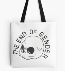 the end of gender Tote Bag