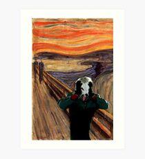"""Yolo Wolf """"Scream"""" Edition Art Print"""