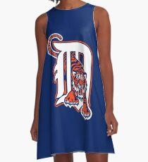 Detroit Tigers Cap A-Line Dress