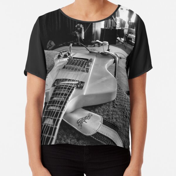 Let There Be Rock... Chiffon Top
