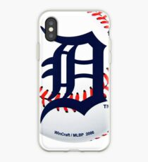 Detroit Tigers Ball iPhone Case