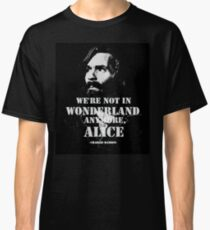 Charles Manson - Wonderland Classic T-Shirt