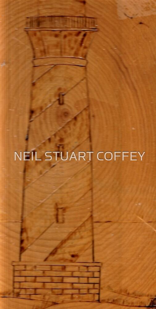HATTERAS LIGHT HOUSE by NEIL STUART COFFEY