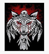 Wolf & Raven Photographic Print