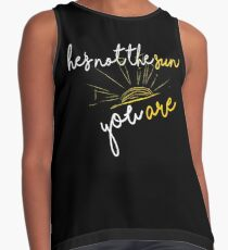 He's not the sun. You are- grey's anatomy Contrast Tank