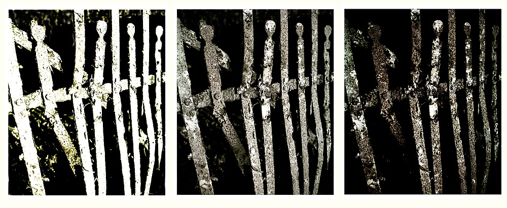 dancers at the gate triptych  by ragman