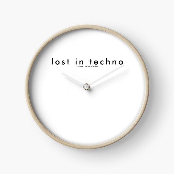 Cause Techno - Lost in Techno Clock
