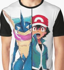Bond Phenomenon XY&Z 29 (Ash and Greninja version) Graphic T-Shirt