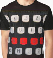 blog on old typewriter Graphic T-Shirt