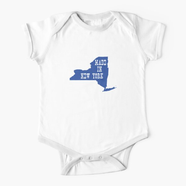 Made in New York Short Sleeve Baby One-Piece