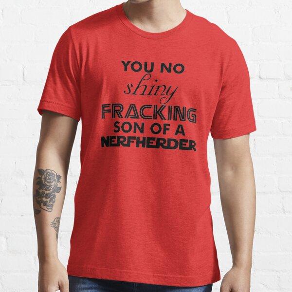 Intergalactic Trash Talk (Black) Essential T-Shirt