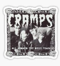 The Cramps sticker  Sticker