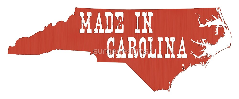 Made in North Carolina by surgedesigns