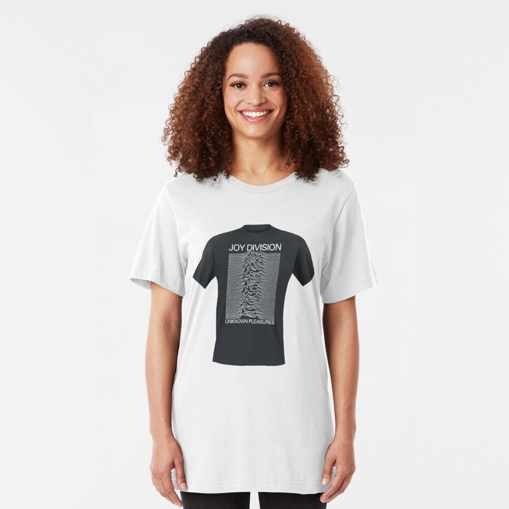 Unknown Pleasures T shirt Slim Fit T-Shirt
