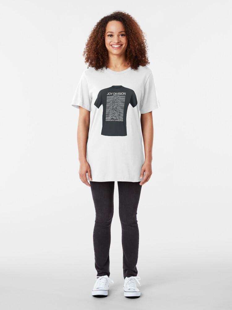 Alternate view of Unknown Pleasures T shirt Slim Fit T-Shirt