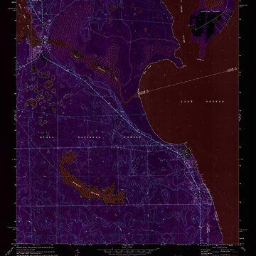 USGS TOPO Map Florida FL Salt Springs 348388 1970 24000 Inverted by wetdryvac