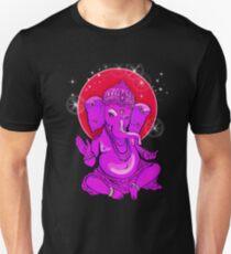 ganesha yoga buddha love elefant india namaste shanti ohm Unisex T-Shirt
