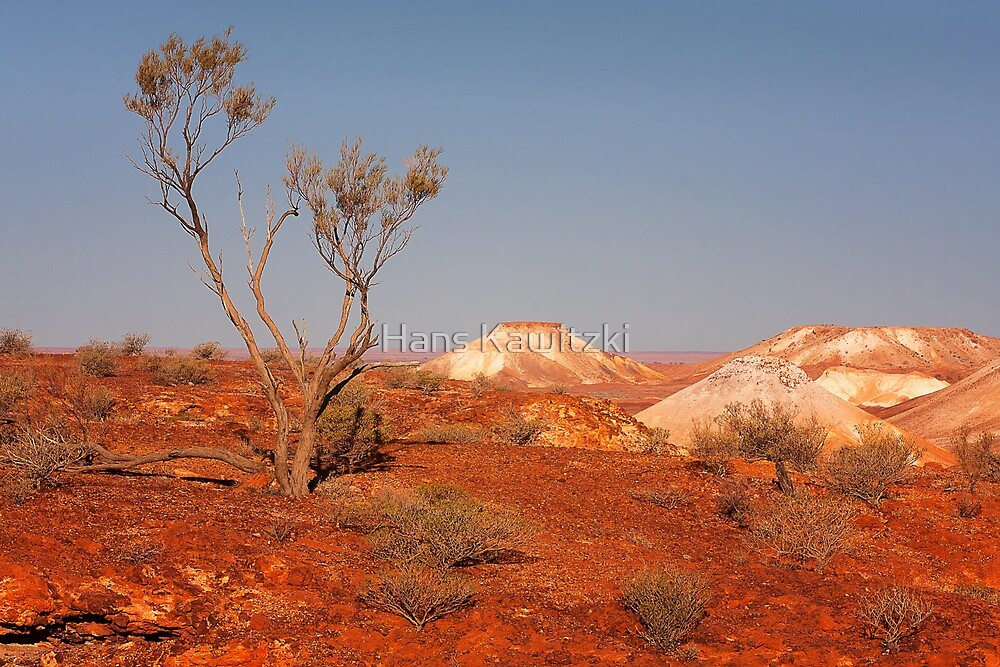 0238 The Breakaways - Coober Pedy  by Hans Kawitzki