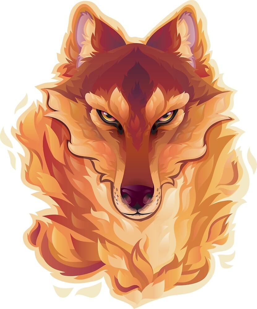 The Fiery Wolf by Lisanne Termoshuizen