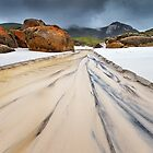 0252 Run off at Squeaky Beach - Wilsons Prom by Hans Kawitzki