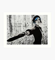 I'am Price,... Chloe Price - Life is Strange Art Print