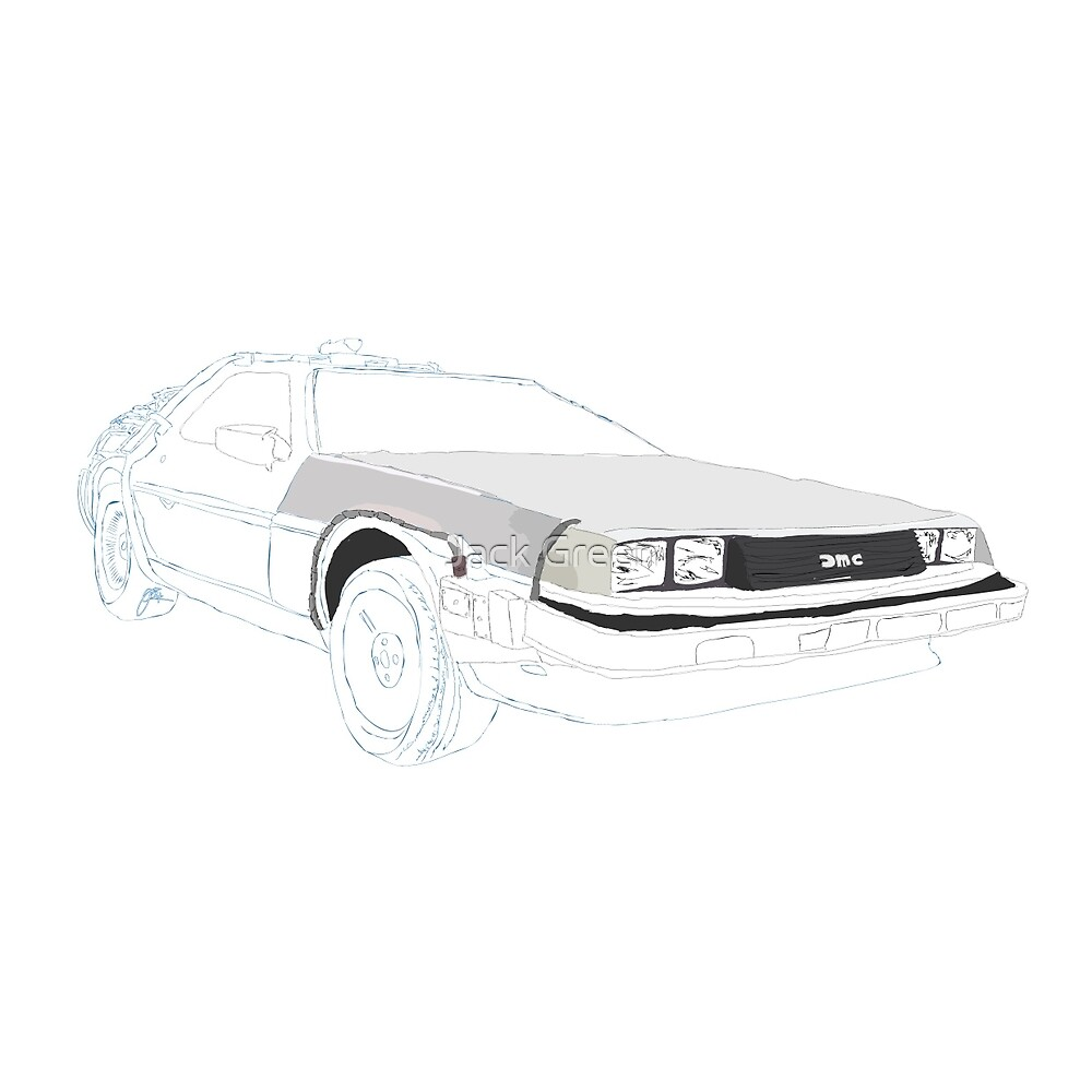 The Delorean. by Jack Green