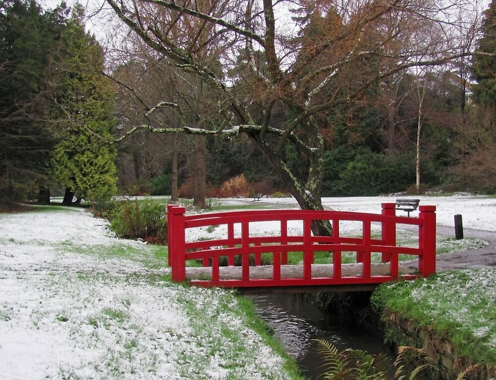 Snow White, Bridge Red by RedHillDigital