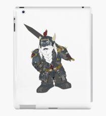 Fantasy dark dwarf design iPad Case/Skin