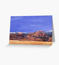 south island landscape (part 2) Greeting Card