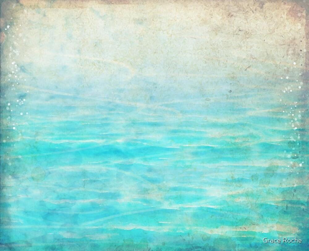 Sandy Blue Shores by Grace Roche