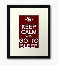 CM Punk - Go To Sleep Framed Print