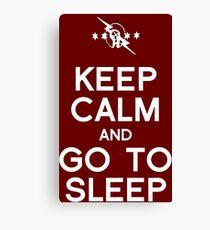 CM Punk - Go To Sleep Canvas Print