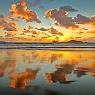 0271 Sunset at Whisky Bay - Wilsons Prom by Hans Kawitzki